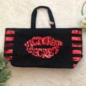 Victoria's Secret Blingy Zip Bag NWT